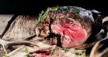 Calories et bienfaits de la viande de cerf