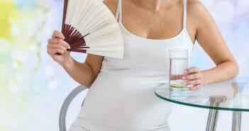 Causes et traitements des bouffées de chaleur chez la femme enceinte