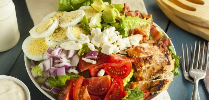 Combien de calories dans la salade cobb ?