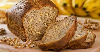 Combien de calories dans le pain aux bananes ?