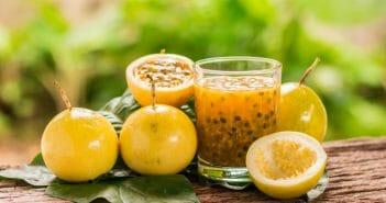Combien de calories dans un jus de fruits de la passion ?