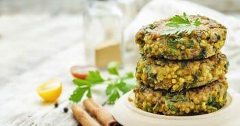Exemple de menu de sèche musculaire pour végétarien