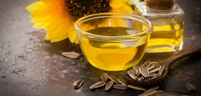 Sunflower oil against cellulite
