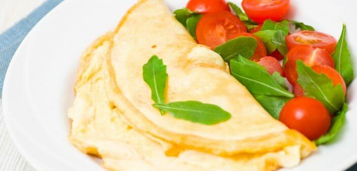 L'omelette blanche est-elle idéale dans un régime minceur ?