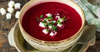 La soupe de betterave : des bienfaits détox