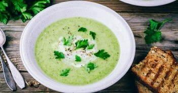 La soupe de persil pour maigrir ?