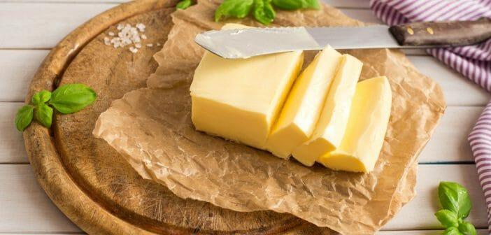 Le beurre salé : calories et teneur en sel