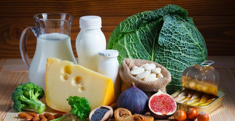 Liste des aliments riche en calcium