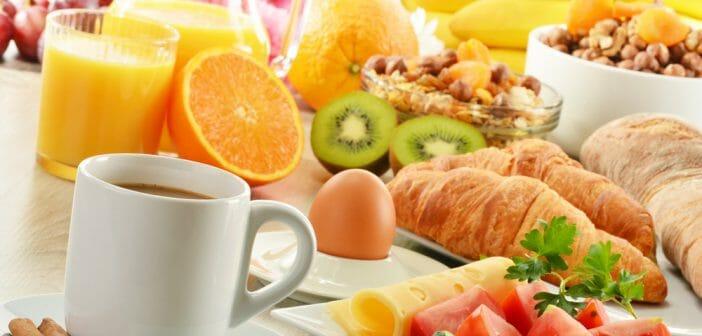 Petit-déjeuner type du régime Weight Watchers