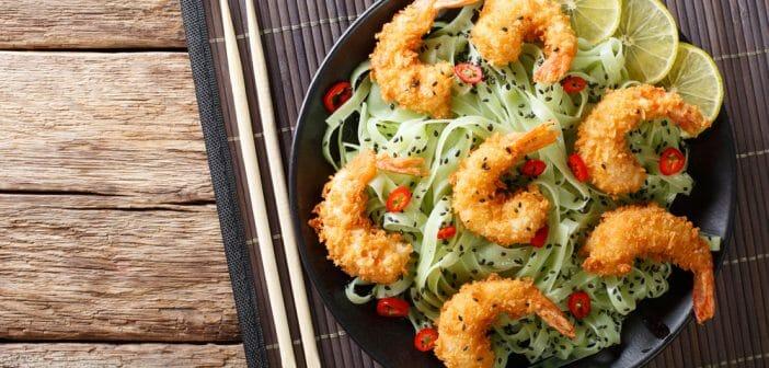 Tempura légumes : combien de calories ?