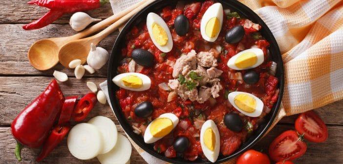 Combien de calories dans la salade tunisienne