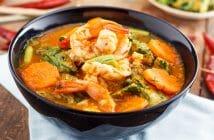 Combien de calories dans la soupe de fruits de mer