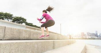 Combien de calories brûlées grâce au jump squat ?