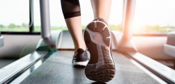 marche sur tapis roulant pour perdre du poids