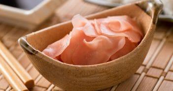 Le gingembre rose : bienfaits et calories