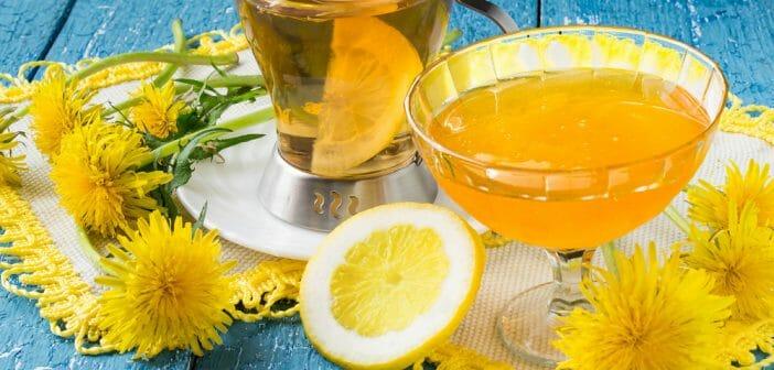 Le mélange pissenlit et citron pour une détox efficace