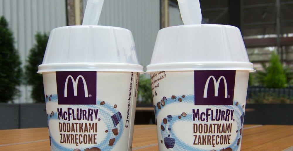 Les calories du Mc Flurry