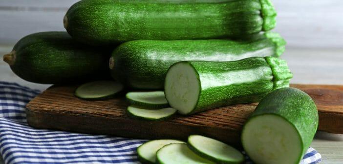 Les courgettes crues : propriétés et calories