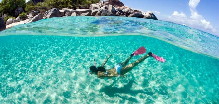 Nager avec des palmes est-il efficace pour maigrir