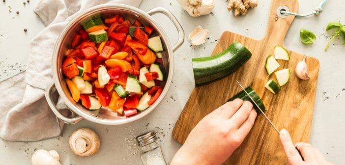 Idée de menu pauvre en calories