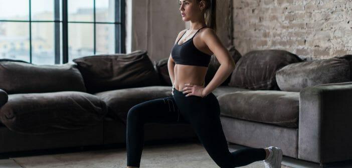 Musculation : les fentes font travailler quels muscles ?