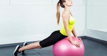 Quels exercices faire avec un ballon pour mincir ?