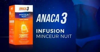 Anaca3 infusion minceur nuit : comment ça fonctionne