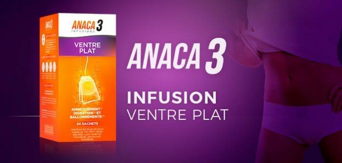 Anaca3 infusion ventre plat : des ingrédients naturels
