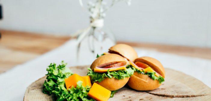 Recette de mini sandwich léger