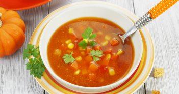 Recette de potage poivron tomate