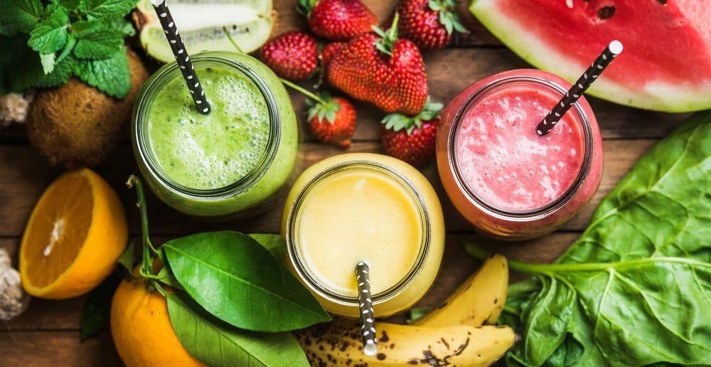3 smoothies vitaminés minceur
