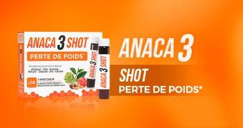 Anaca3 shot perte de poids, votre partenaire minceur