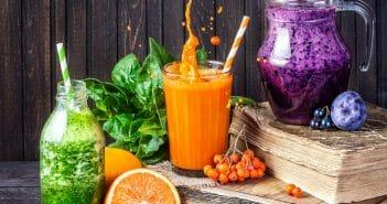 Recettes minceur : smoothies de saison pour l'hiver